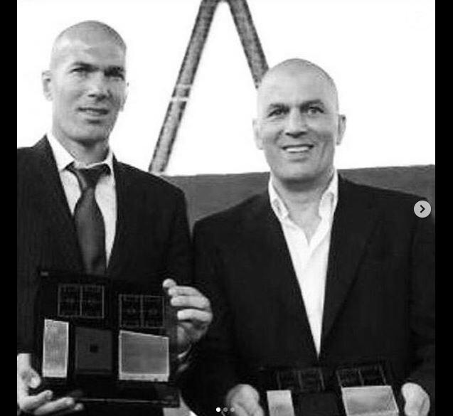 Zinédine Zidane rend hommage à son grand frère Farid mort à 54 ans sur Instagram le 14 juillet 2019.