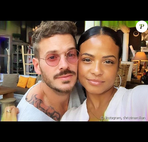 M. Pokora et Christina Milian en mode selfie sur Instagram, le 25 juin 2019