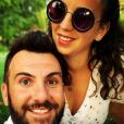 Laurent Ournac et sa femme Ludivine à Marrakech, le 19 juillet 2019