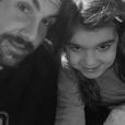 Laurent Ournac et sa fille Capucine au cinéma, le 25 février 2019 - photo Instagram