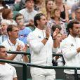 Patrick Mouratoglou lors du tournoi de Wimbledon 2019 à Londres, Royaume Uni, le 3 juillet 2019. © Chryslene Caillaud/Panoramic/Bestimage