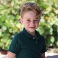 De nouvelles photos signées Kate Middleton pour les 6 ans de son fils le prince George, le 22 juillet 2019.