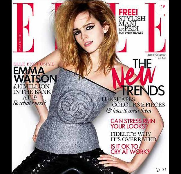 Emma Watson pour ELLE