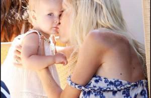 Quand Tori Spelling, toujours maigrelette, est avec  son chéri et ses magnifiques enfants... elle oublie tous ses soucis !