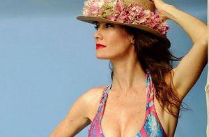 Mareva Galanter : En bikini à Bora Bora, l'ex-Miss France profite