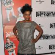 "Joie Lee fête les 20 ans du film "" Do The Right Thing"" au Directors Guild of America Theatre, à NYC hier"