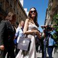 Angelina Jolie arrive à son hôtel à Paris, France, France, le 9 juillet 2019.