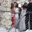 Heidi Klum et Tom Kaulitz se sont mariés à bord du yacht Christina O, au large de Capri. Le 3 août 2019.