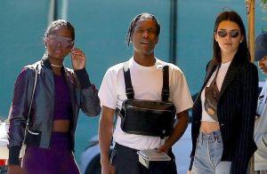 A$AP Rocky : Libre et souriant avec son ex Kendall Jenner, ravie
