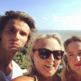 Valérie Damidot avec sa fille Roxane et son fils Norman sur Instagram, le 1e août 2019