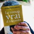 """Alexandre Jardin avec son """"Roman vrai"""" sur Instagram, le 5 juillet 2019."""