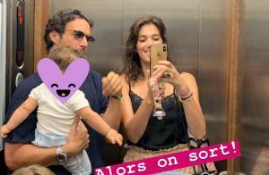 Laurie Cholewa : Ses vacances en Corse avec son compagnon et leur fille Rose
