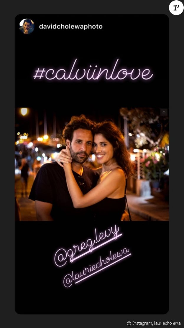Laurie Cholewa sur Instagram.