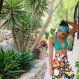 Sonia Rolland en vacances, pose sur Instagram. Août 2019