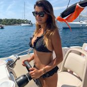 "Karine Ferri, pilote sexy en bikini : Sa virée ""paradisiaque"" en bateau"