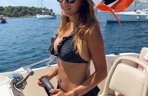 Karine Ferri, pilote sexy en bikini : Sa virée