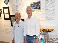 Franck Riester : En vacances à Saint-Tropez, sa visite à l'expo Johnny Hallyday