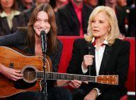 Carla Bruni-Sarkozy : Délicate pensée pour Sylvie Vartan en un jour spécial