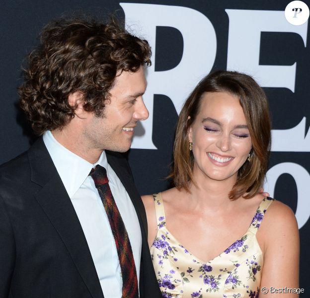 """Adam Brody et sa femme Leighton Meester à la première du film """"Ready or Not"""" au cinéma ArcLight à Los Angeles, Californie, Etats-Unis, le 19 août 2019."""