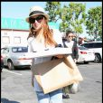 Pour son anniversaire, Lindsay Lohan s'est offert... une pizza ! Happy Birthday !