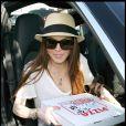 Pour son anniversaire, Lindsay Lohan s'est offert... une pizza !