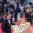 """Quentin Tarantino et sa femme Daniella Pick - Montée des marches du film """"Hors Normes"""" pour la clôture du 72ème Festival International du Film de Cannes. Le 25 mai 2019 © Jacovides-Moreau / Bestimage"""