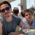Victoria Beckham a partagé des photos de son clan en vacances dans le Sud de la France, sur Instagram, le 25 août 2019.