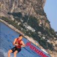 David Beckham a partagé des photos et vidéos de son clan sur Instagram, en vacances dans le Sud de la France, le 25 août 2019.
