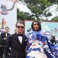 Francesco Carrozzini et Iman Bowie assistent à la cérémonie d'ouverture du 76ème festival international du film de Venise (La Mostra de Venise). Le 28 août 2019.
