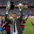Luis Enrique, entraîneur de Barcelone - Espagne : Messi offre la Coupe du Roi au Barça face à Alavés à Madrid le 27 mai 2017