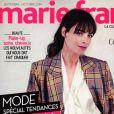 Bérénice Bejo en couverture du magazine Marie France, numéro 285, le 30 août 2019.