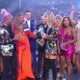 John Travolta a confondu Taylor Swift avec une drag queen sur la scène des MTV Video Music Awards (MTV VMA's) à Newark dans le New Jersey, le 26 août 2019.