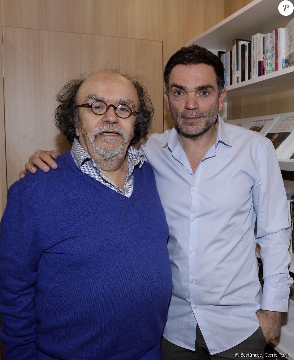 Yann Moix Et Jean Michel Ribes Lors De La 37eme Edition Du
