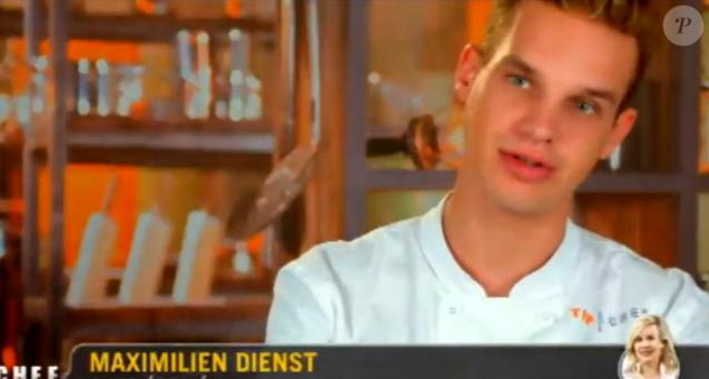 """Maximilien - """"Top Chef 2017"""" sur M6. Le 15 février 2017."""