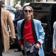 Céline Dion arrive à l'hôtel Plaza Athénée à Paris le 31 janvier 2019.