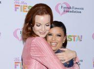 Eva Longoria retrouve Marcia Cross à la crinière flamboyante après le cancer