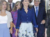 Letizia d'Espagne : Le retour d'une jolie jupe pour son message sur le handicap