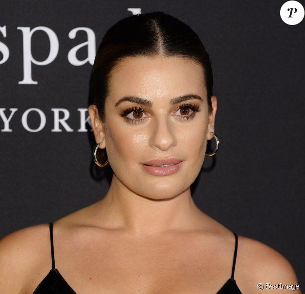 Lea Michele - People à la soirée InStyle Awards au Getty Center à Los Angeles, le 22 octobre 2018