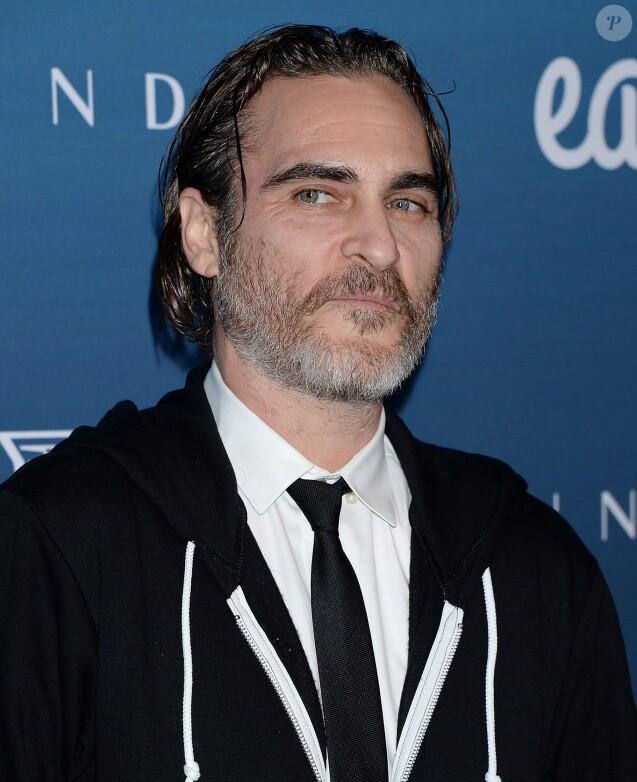 """Joaquin Phoenix - Les célébrités posent lors du photocall de la soirée """"The Art Of Elysium"""" à Los Angeles le 5 janvier 2019."""