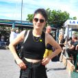 """Eléonore Sarrazin (fille d'Ariane Carletti) - People au festival """"Les Herault du cinéma et de la télé"""" au Cap d'Agde. Le 23 juin 2019 © Robert Fages / Bestimage"""