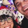 """Frédérique et Pierre de """"L'amour est dans le pré"""" souhaitent un joyeux Noël 2018 à leurs followers."""