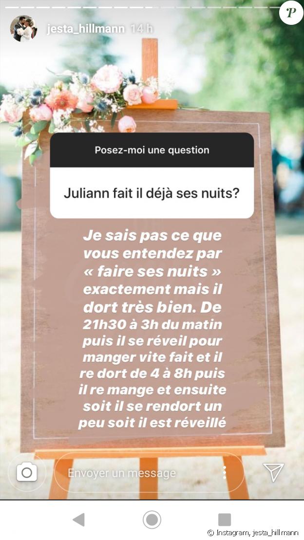 """Jesta de """"Koh-Lanta"""" répond aux questions de ses abonnés sur Instagram, le 11 septembre 2019"""