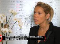 """Tiphaine Auzière, émue, sur le couple Macron : """"C'est une très belle histoire"""""""