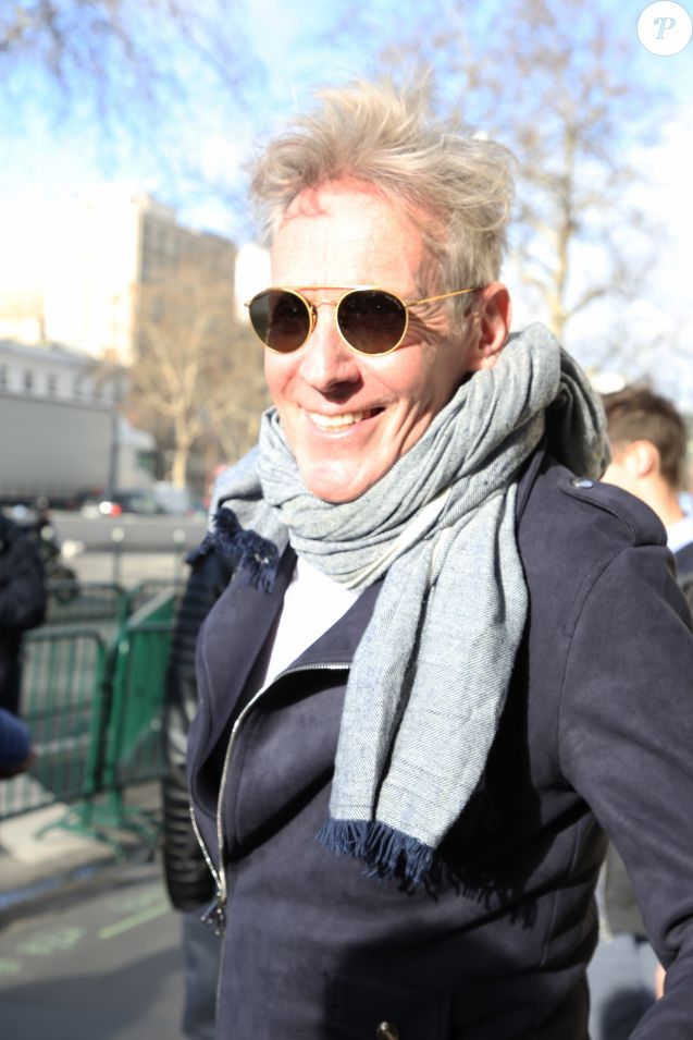 Plastic Bertrand - People à la sortie de la station de radio RTL à Paris le 7 mars 2019.07/03/2019 - Paris