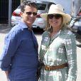 Exclusif - Manuel Valls et Susana Gallardo sont allés dîner au restaurant où ils se sont rencontrés il y a 1 an à Marbella. Le couple a célébré l'anniversaire de leur rencontre.