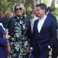 Manuel Valls et Susana Gallardo lors du Festival Jardins Pedralbes, à Barcelone, le 5 juin 2019.