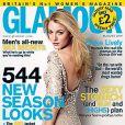 """Blake Lively en couverture du magazine  Glamour  du mois d'août"""