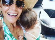 Laura Tenoudji : Sa fille de 2 ans lui pique son sac à main