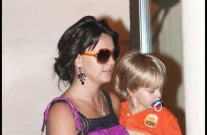 Britney Spears : dernière balade dans Paris avec son plus jeune bout'chou... et un look pas terrible !