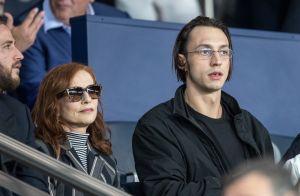 Isabelle Huppert et son fils Lorenzo, Véronique Zidane en tribunes pour PSG-Real